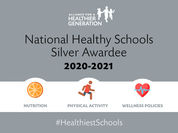 Silver awardee for Healthy School