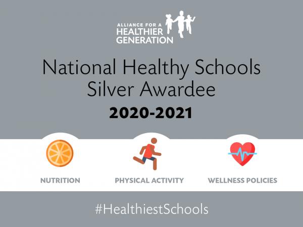Silver awardee for Healthy School